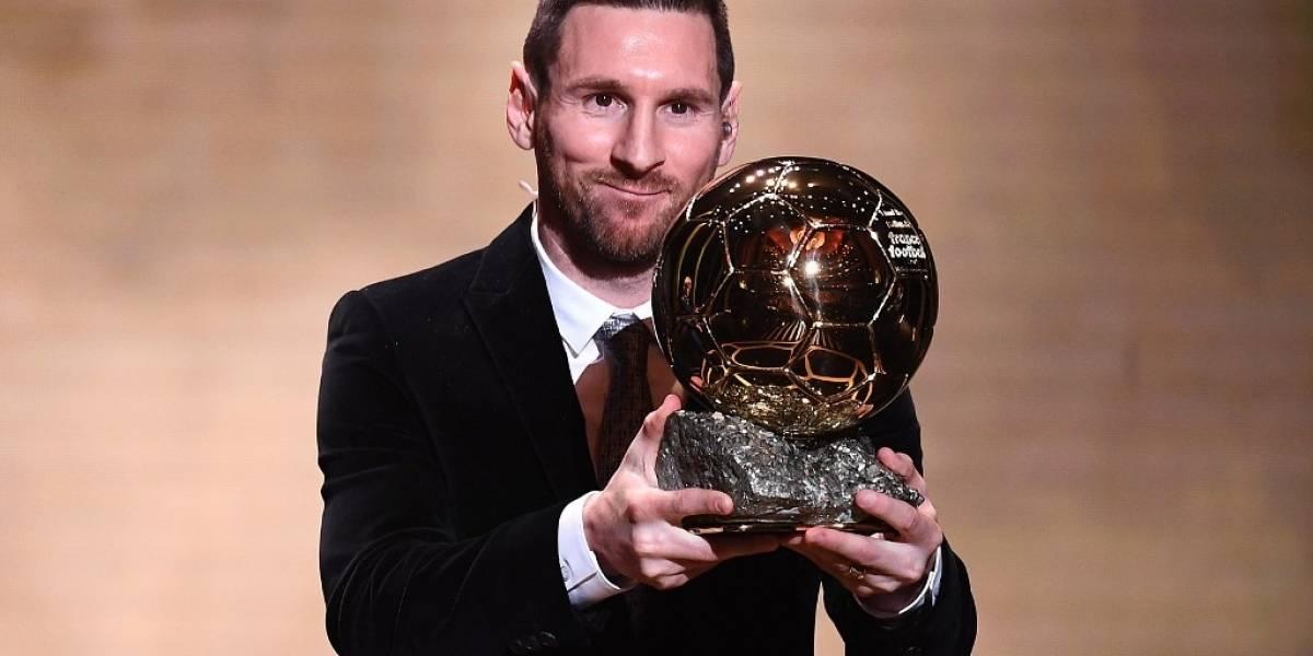 Messi gana el Balón de Oro y da un discurso que hace temblar al mundo