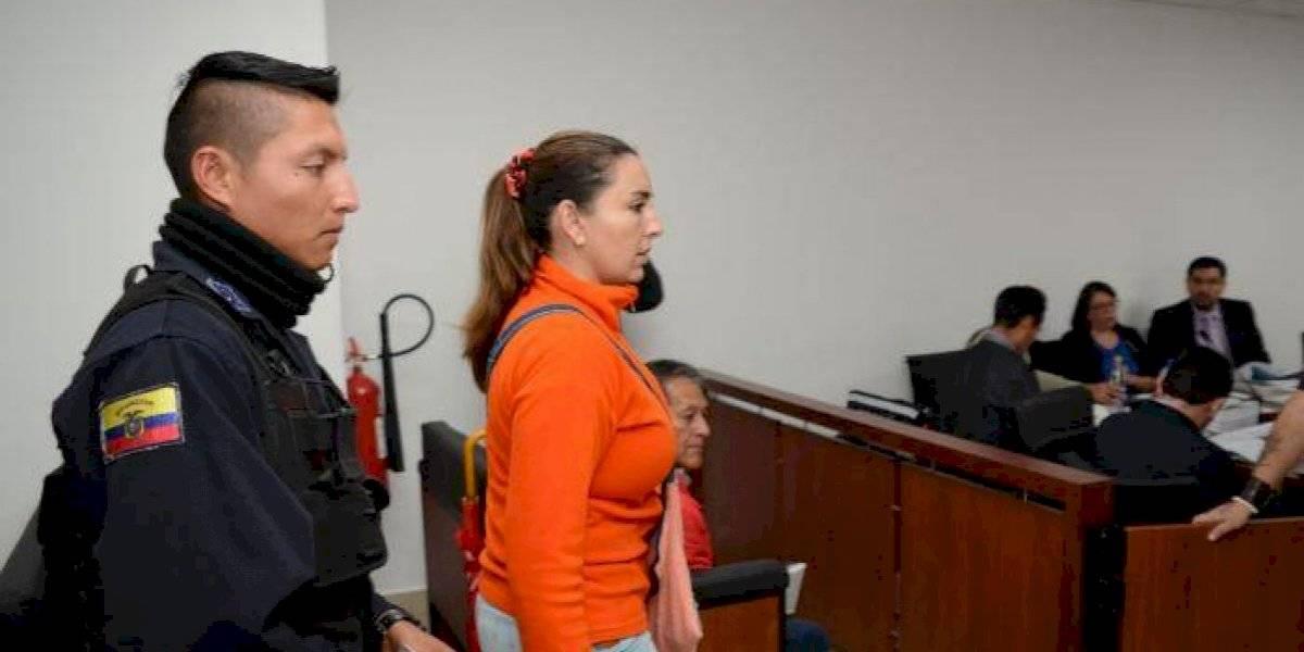 Prisión preventiva para María Sol Larrea por lavado de activos