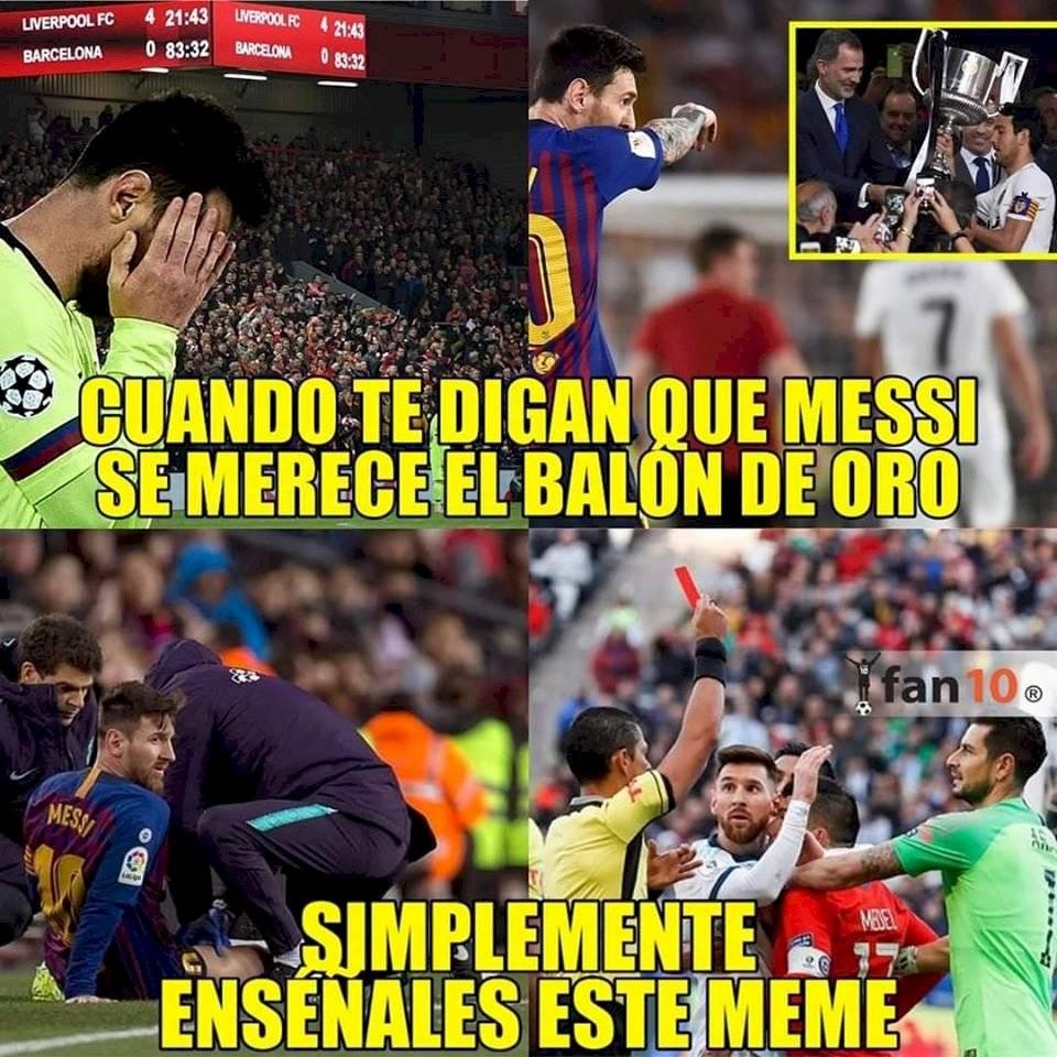 Memes Balón de Oro