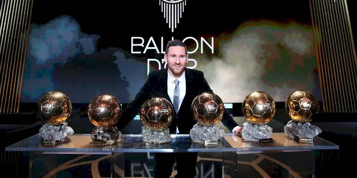 Lionel Messi, seis veces Balón de Oro