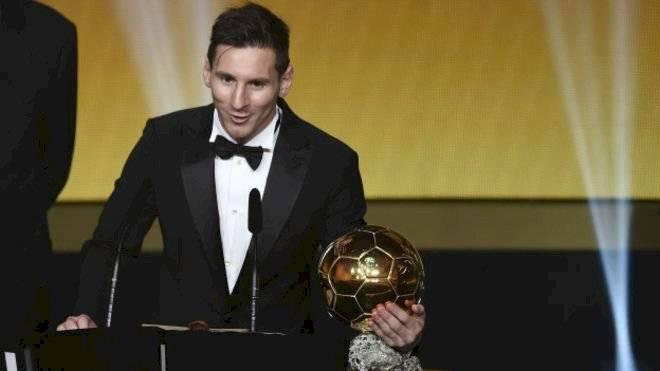 Messi ganador del Balón de Oro en 2015