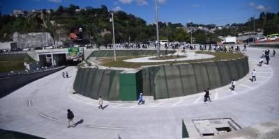 Municipalidad de Guatemala inaugura el paso a desnivel de Cuatro Caminos