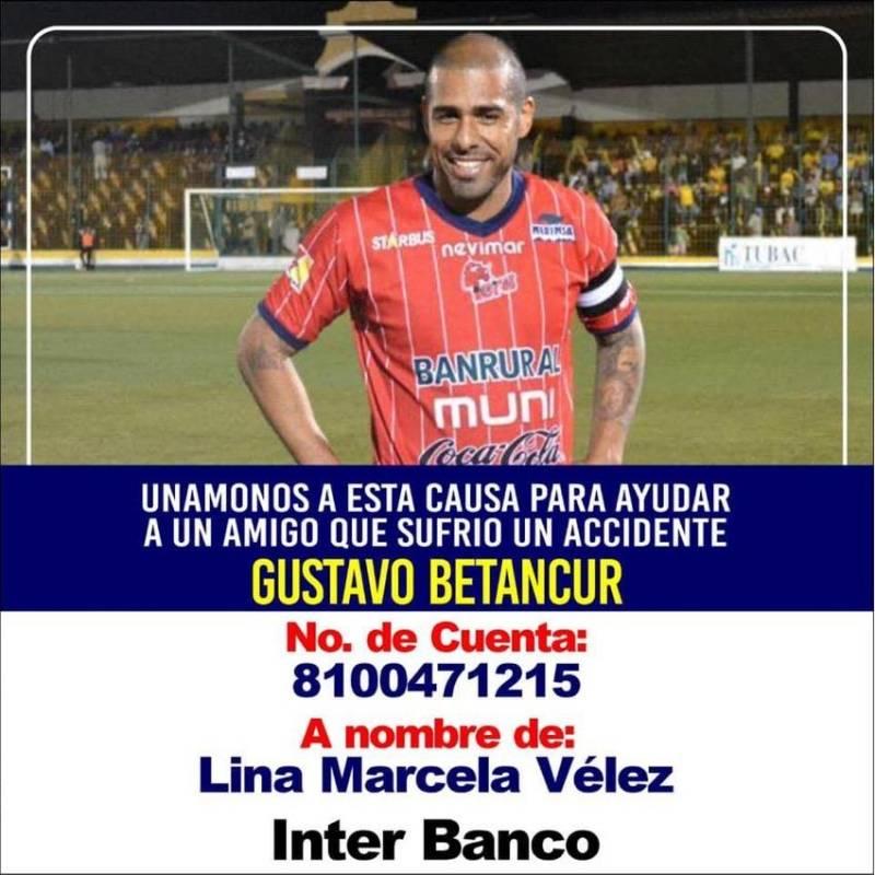 Piden ayuda para Gustavo Betancur tras terrible accidente
