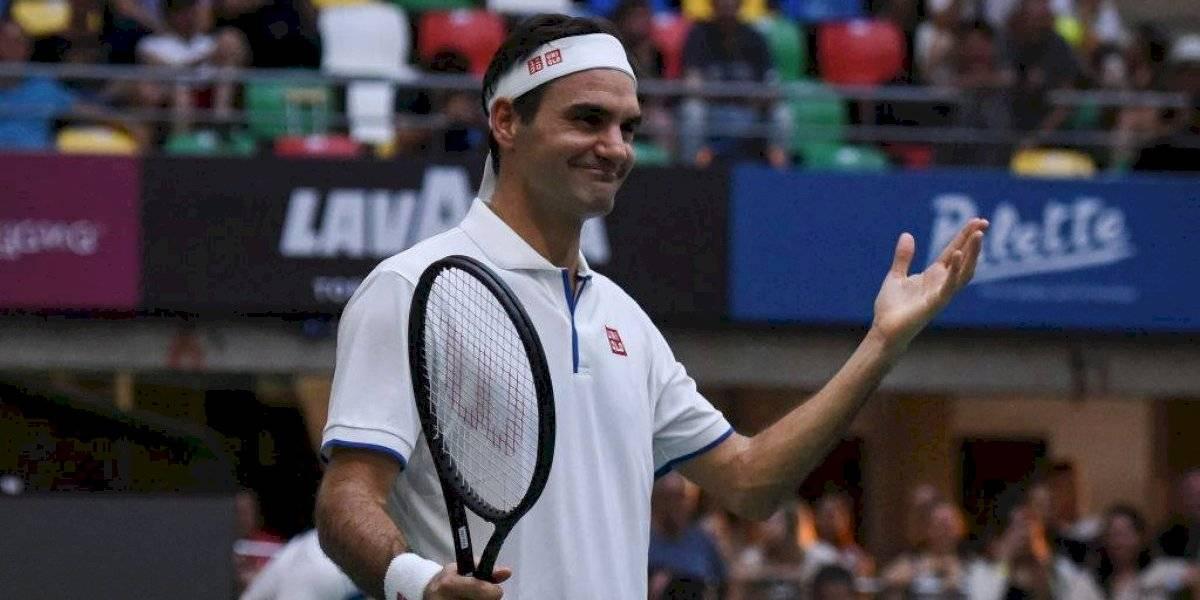 Suiza acuña monedas con el rostro de Roger Federer