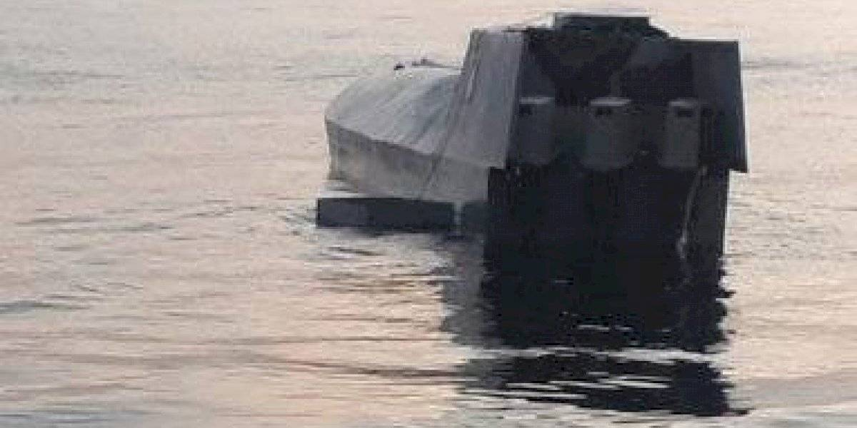 Ejército intercepta embarcación semisumergible en el Pacífico