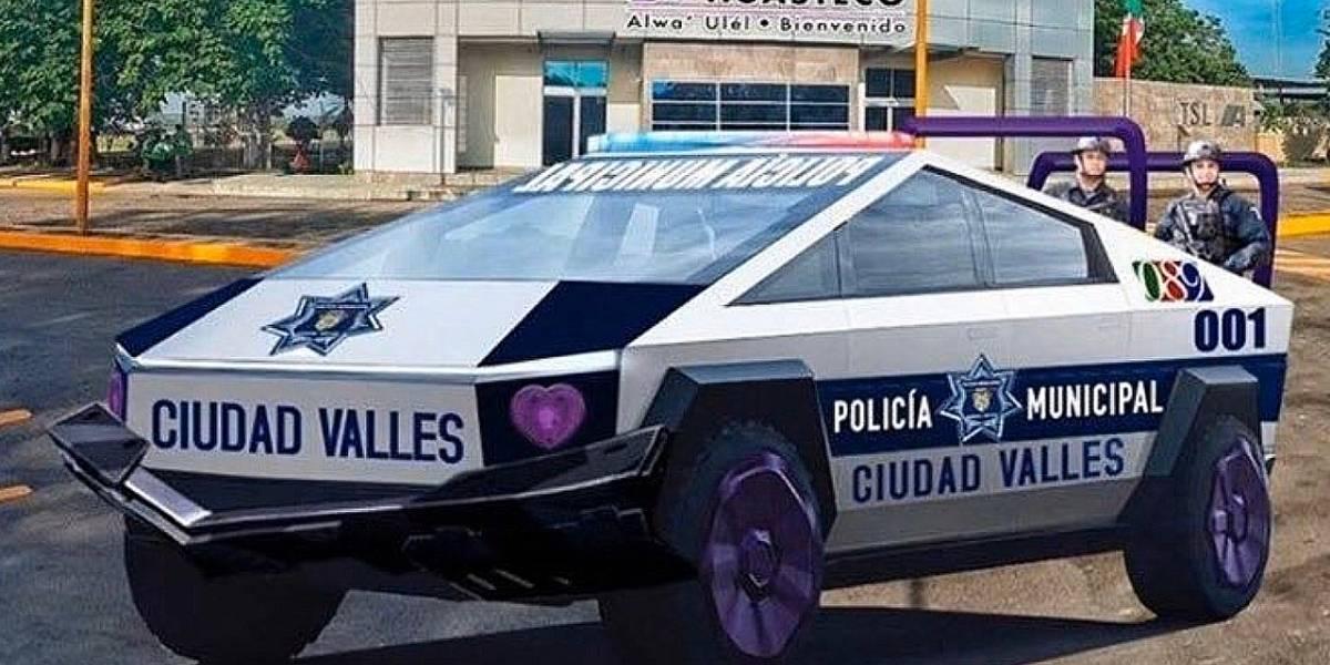 México: Policía de San Luis tendrá camionetas Cybertruck de Tesla