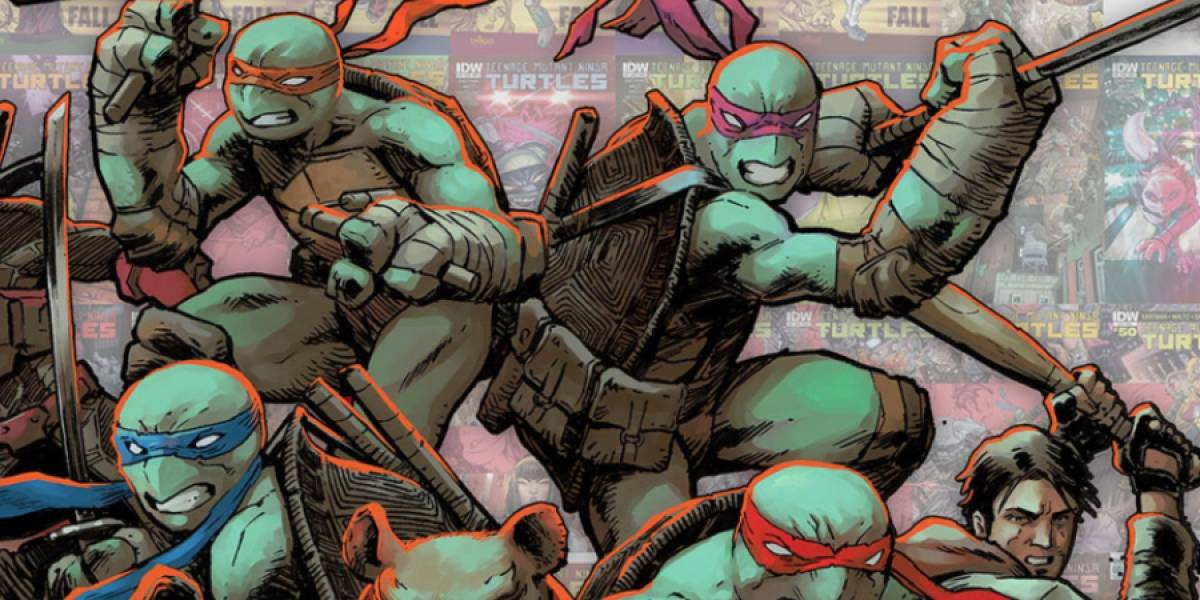 El número 100 de Teenage Mutant Ninja Turtles es un homenaje a la nueva era
