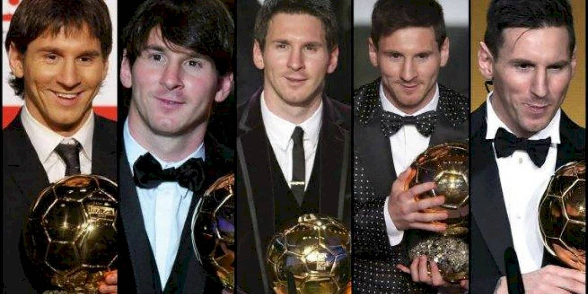 Los icónicos trajes de Lionel Messi en las galas del Balón de Oro