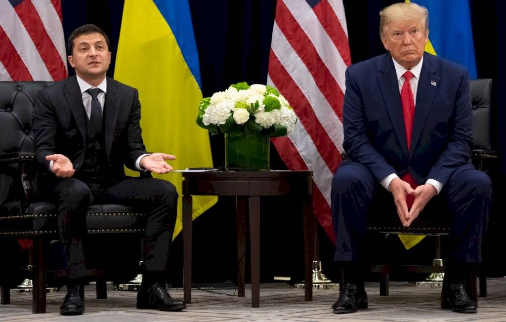 Volodímir Zelenski y Donald Trump