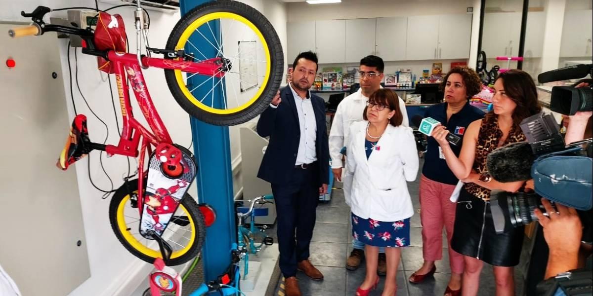 """Test a las bicicletas: Autoridades midieron la calidad de """"las reinas de la navidad"""""""