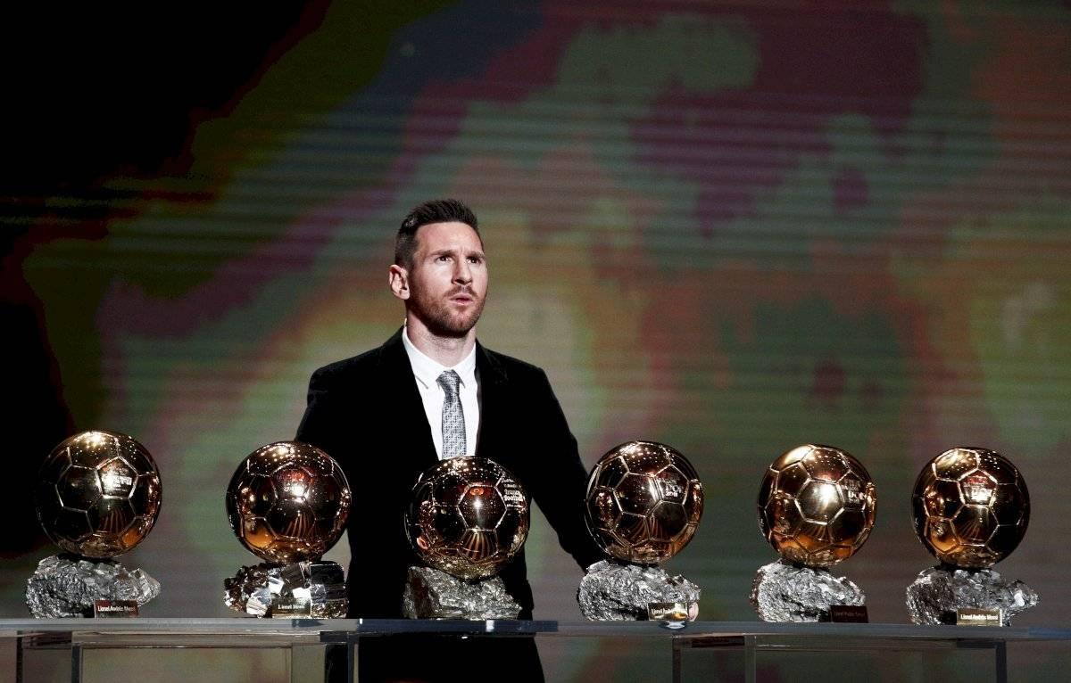 Messi, tras ganar su sexto Balón de Oro
