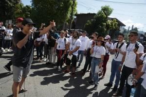 Jóvenes de países del SICA conocen trabajo de El Salvador contra la violencia