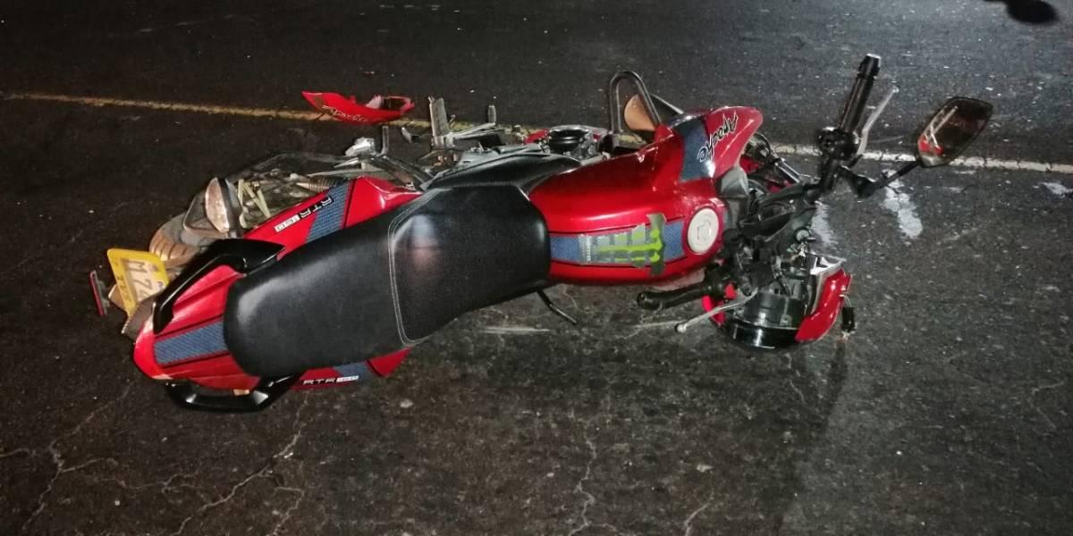 Motoristas se accidentan en zonas 10 y 12