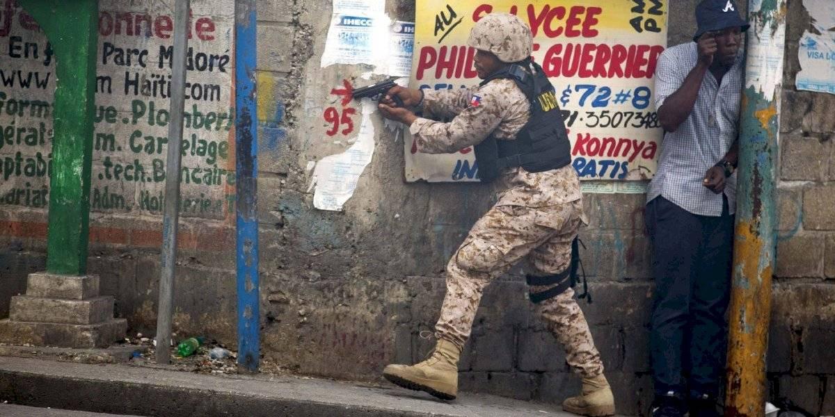 Traficante de armas dijo que sólo quería ayudar a los militares haitianos a mejorar su puntería