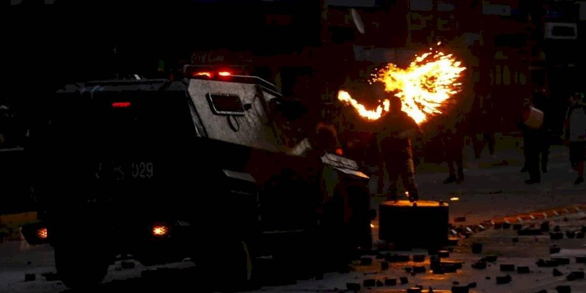 Masiva marcha, enfrentamientos y desmanes: las imágenes que dejó una nueva jornada de protestas en Concepción