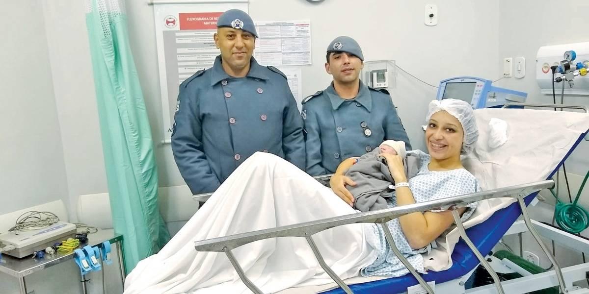 Bebê nasce na via Anchieta com ajuda da Polícia Militar e Ecovias