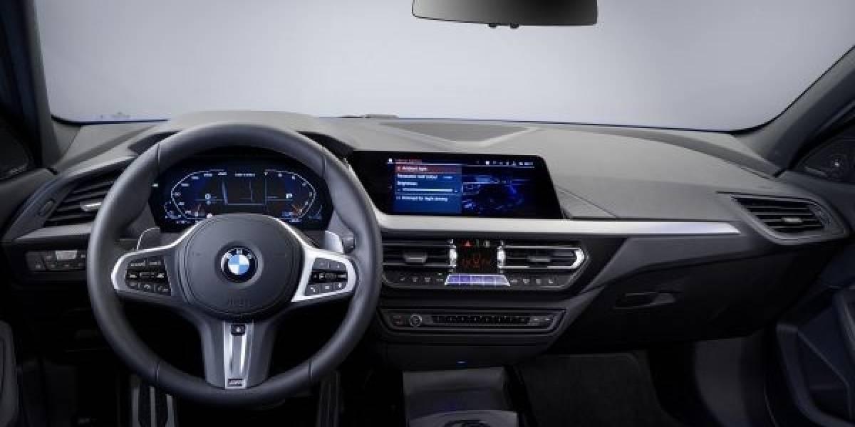 Mira mamá, sin manos: BMW