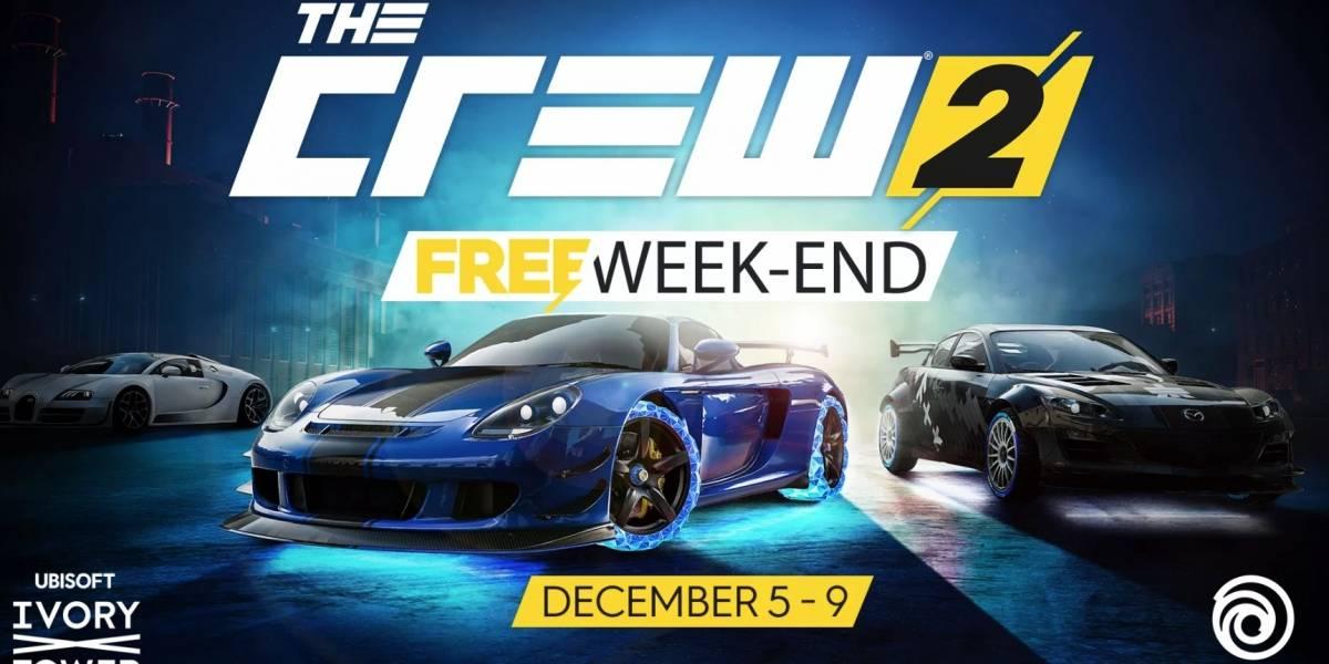 Jogue The Crew 2 gratuitamente no PlayStation 4 neste fim de semana