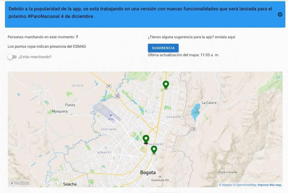 Conozca la aplicación que permite saber dónde hay manifestaciones y bloqueos