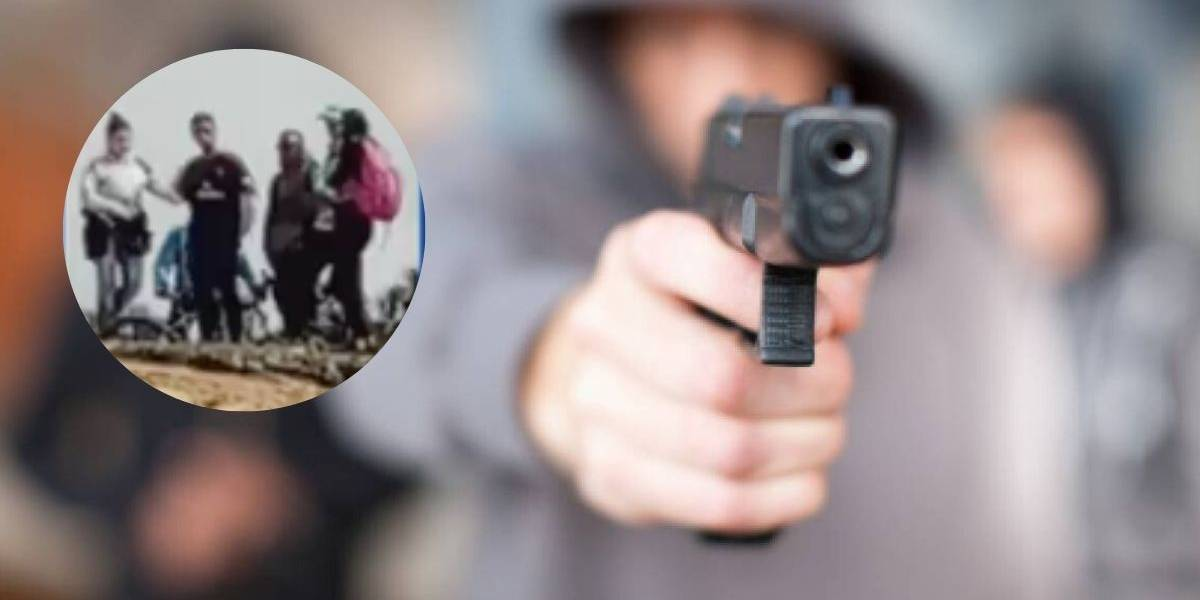 (VIDEO) Delincuentes realizan robo masivo en parque ecológico en Bogotá