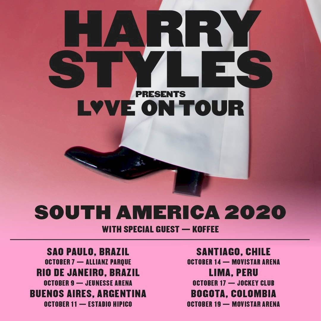 harry styles shows brasil