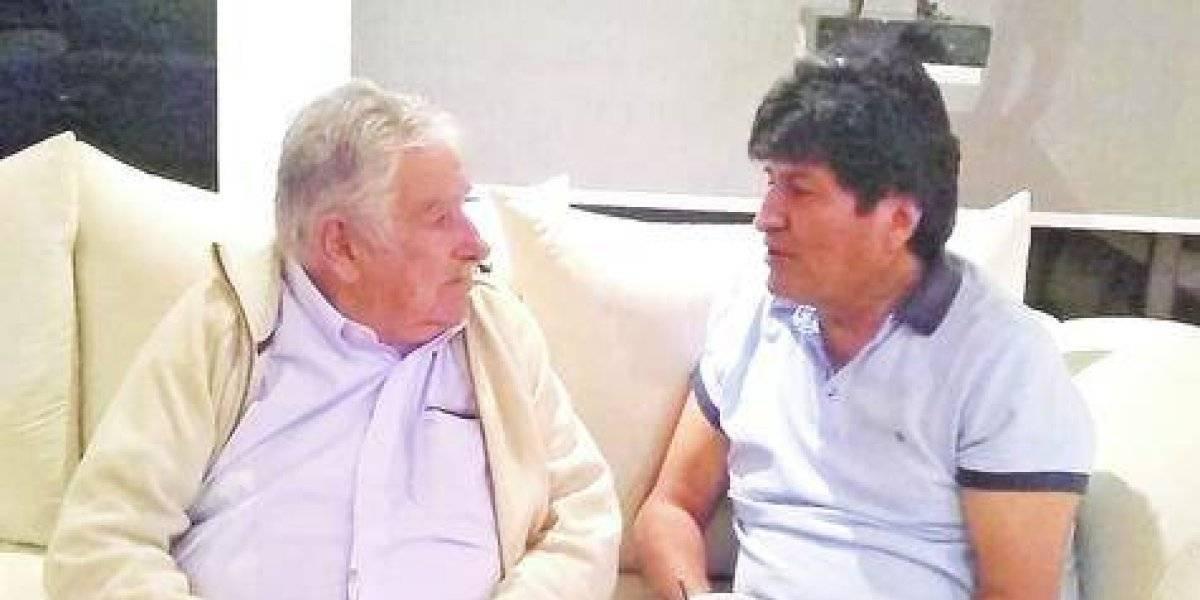 Evo y Mujica se suman a los festejos del presidente López Obrador en México