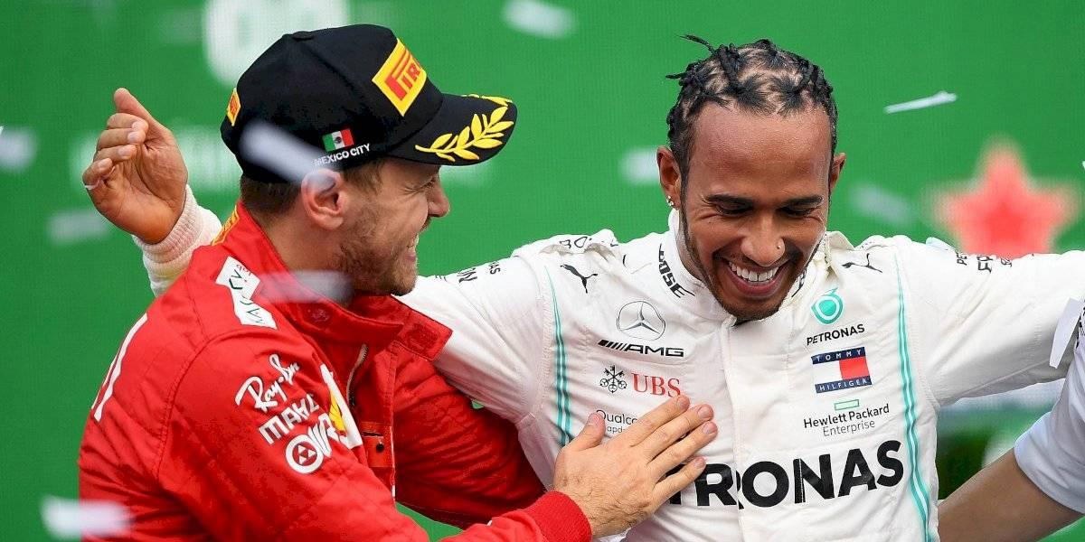 'Hamilton ya es piloto de Ferrari': Sebastian Vettel