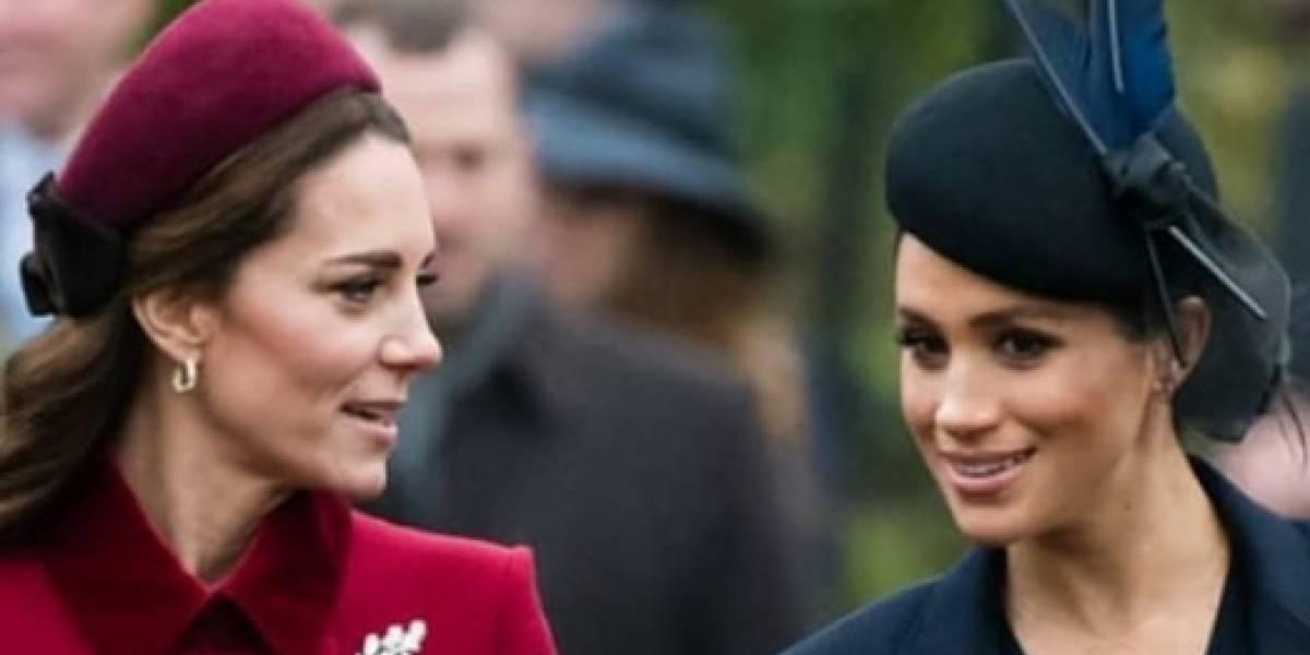 Kate y Meghan marcan tendencia con el particular moño que usó la princesa Diana