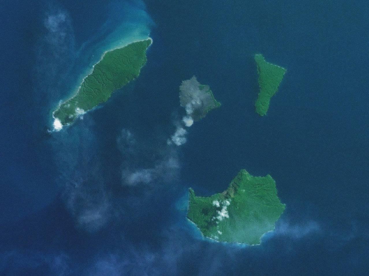 Científicos descubren que erupción del Volcán Krakatoa causó un tsunami de 150 metros