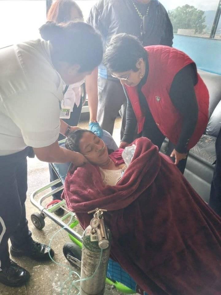 Mujer da a luz en la Municipalidad de Guatemala