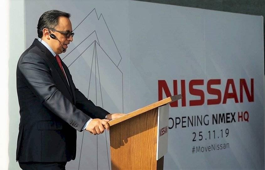 Nissan Mexicana inauguración