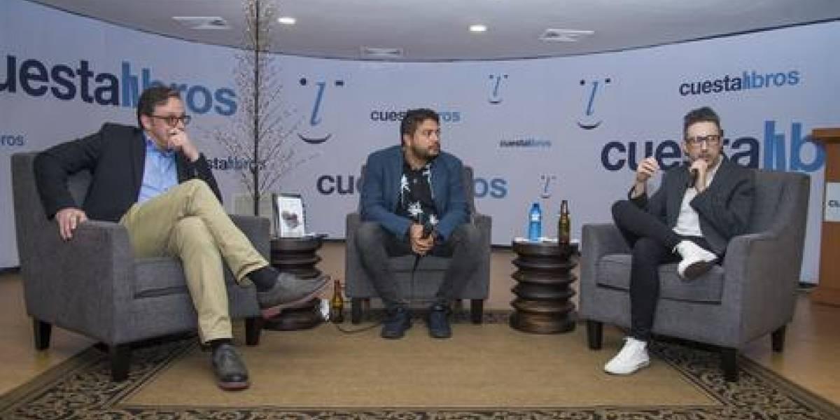 Cuesta Libros realizó encuentro con el escritor argentino Patricio Pron