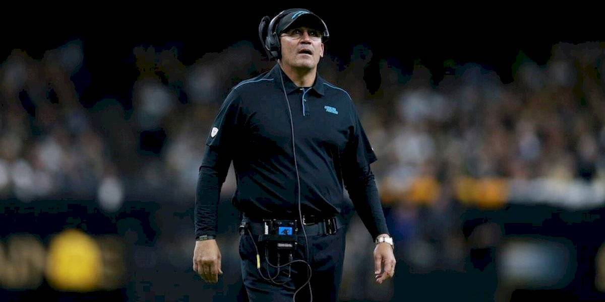 Panthers se deshacen del entrenador Ron Rivera