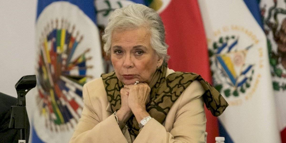 Sánchez Cordero rechaza terminología 'narcoterrorista' de Trump