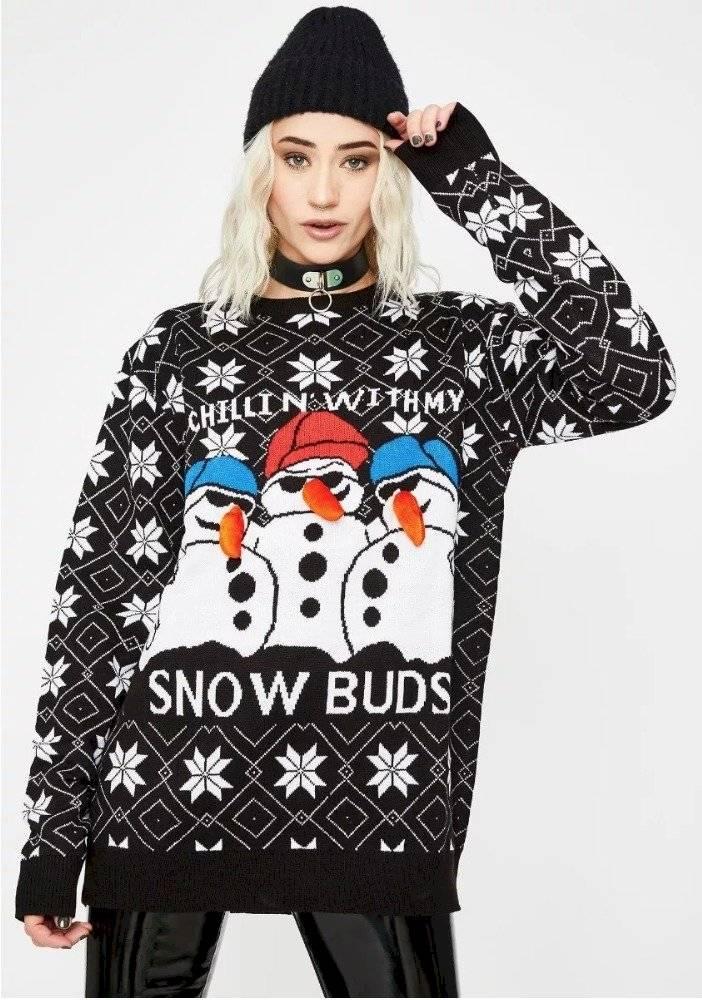 Suéteres de navidad para la familia al por mayor de alta