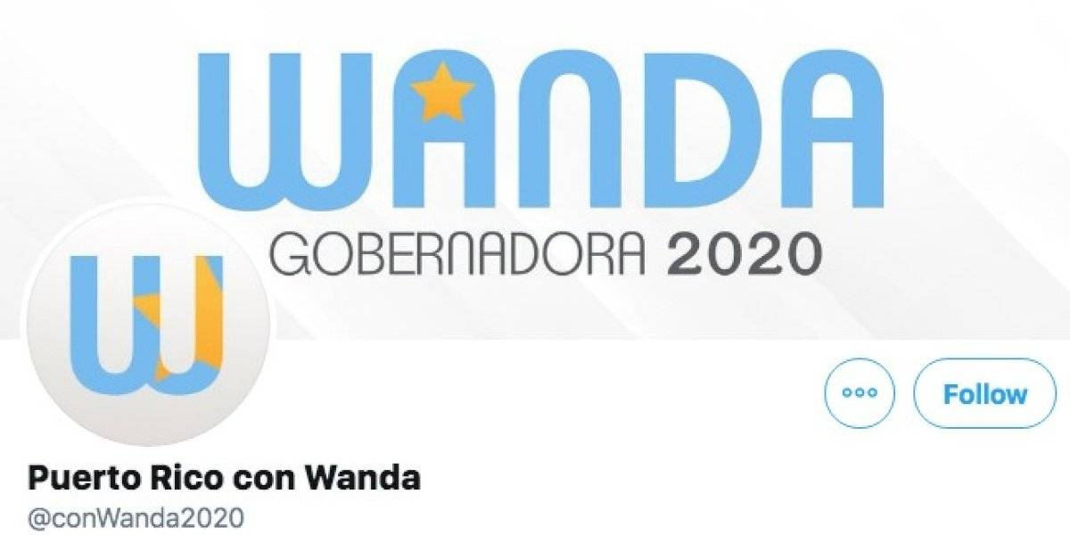 Crean cuenta de Twitter en apoyo a Wanda 2020