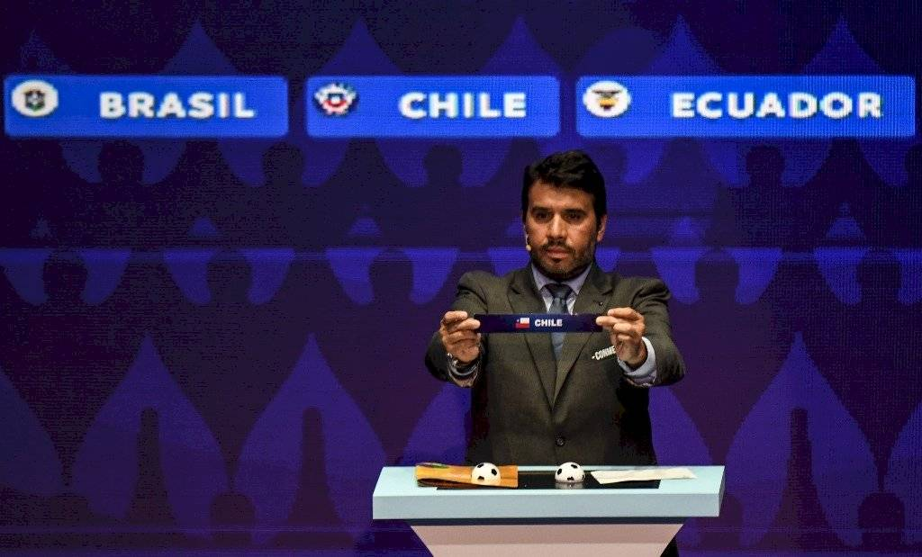 Sorteo de la Copa América 2019