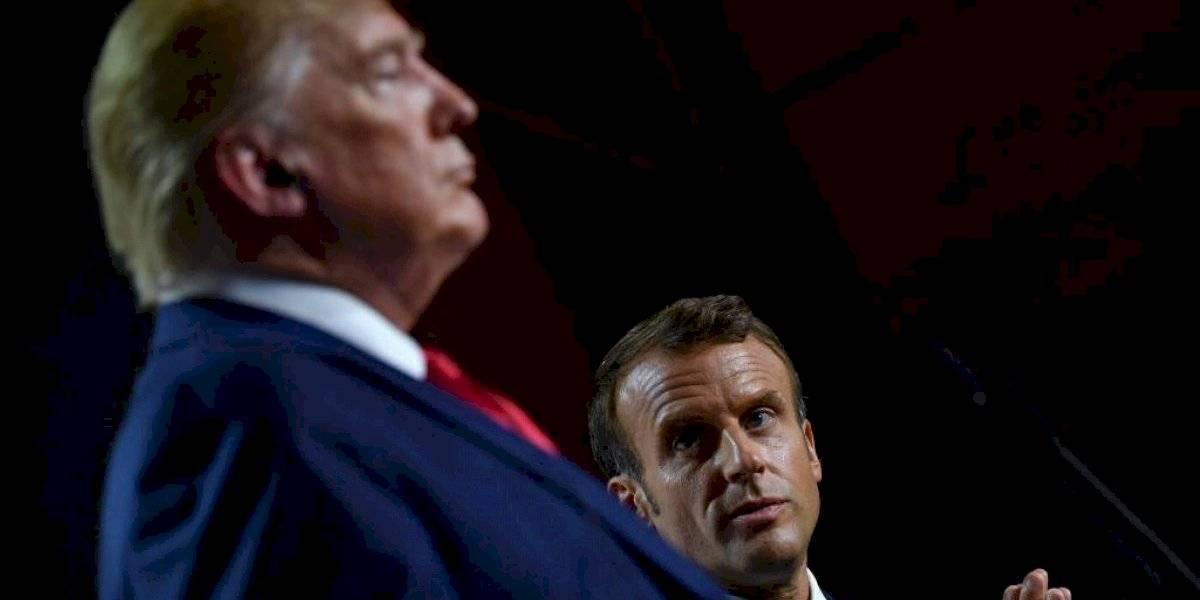 """Trump califica de """"insultantes"""" las críticas de Macron a la OTAN"""