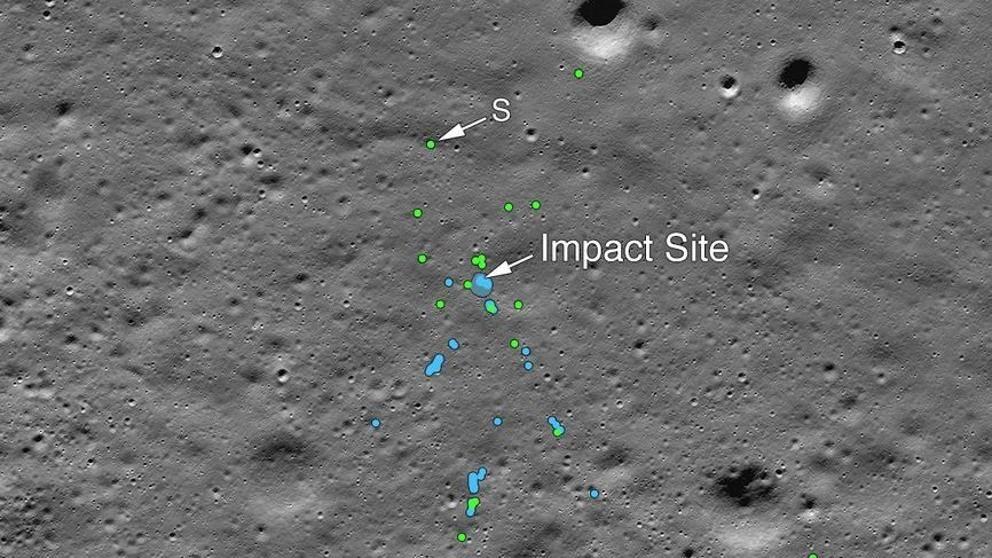 Tragicómico: La NASA encuentra lugar exacto dónde se accidentó módulo de aterrizaje Indio