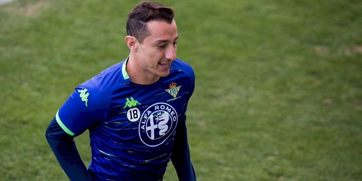 'Lainez es un talento que va a explotar muy pronto': Andrés Guardado