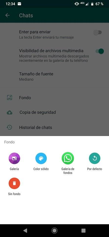WhatsApp Colores