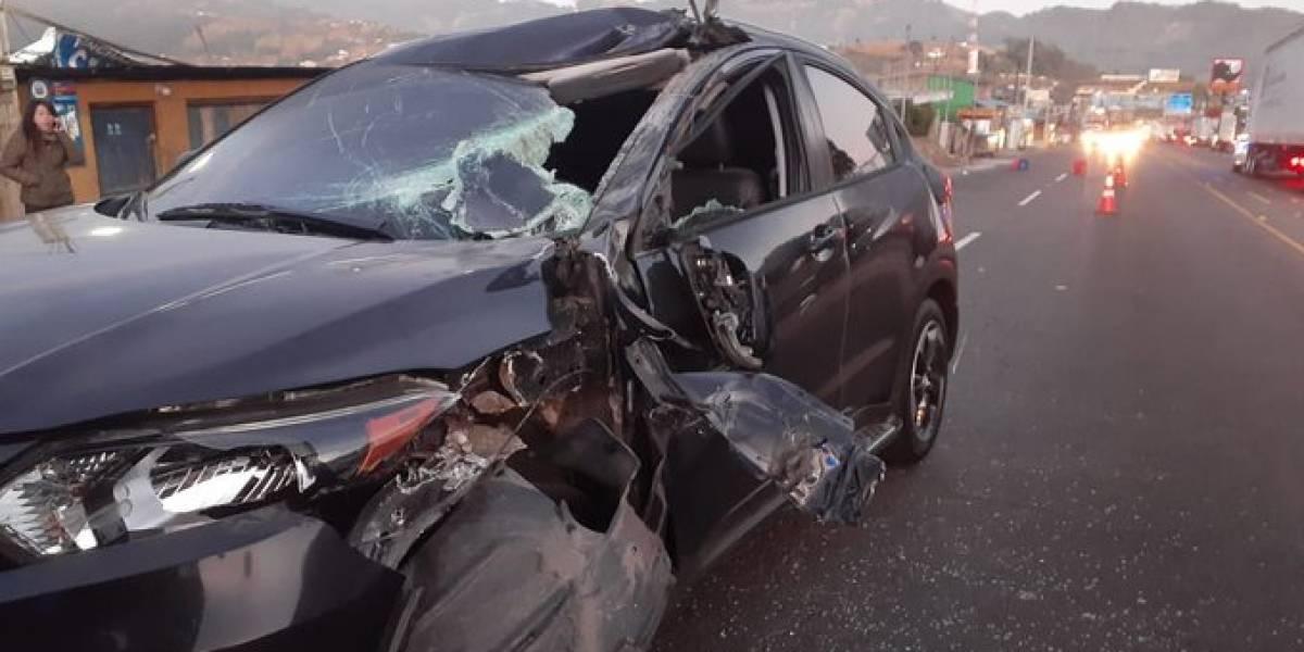 Al menos 20 accidentes de tránsito se registran cada día en Guatemala