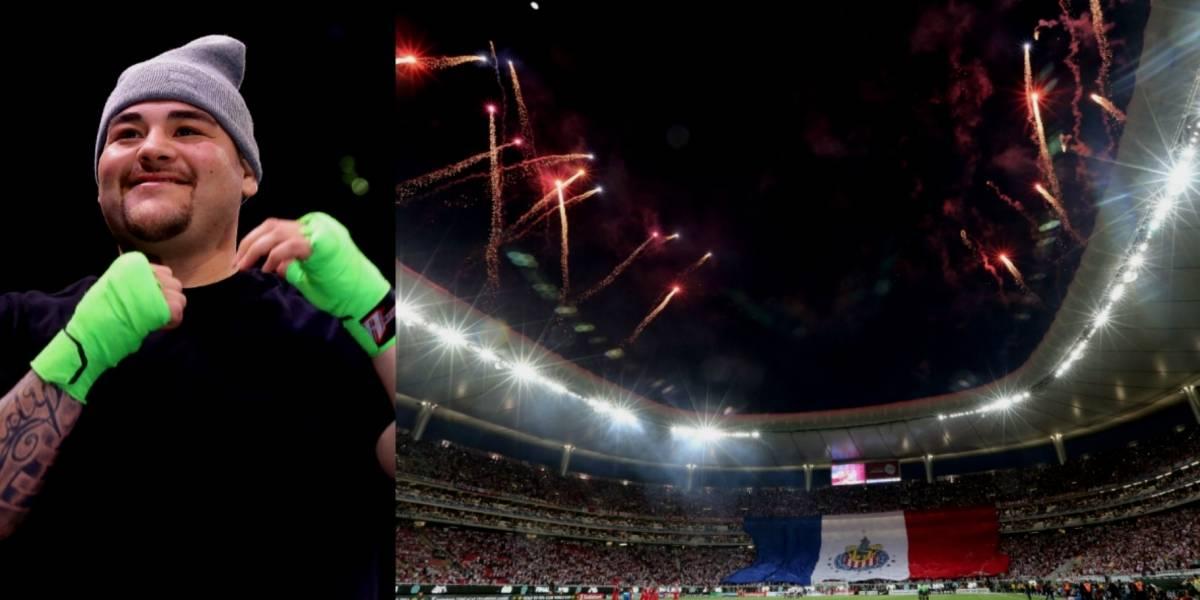 Andy Ruiz quiere pelear en México... ¡y en el estadio de Chivas!