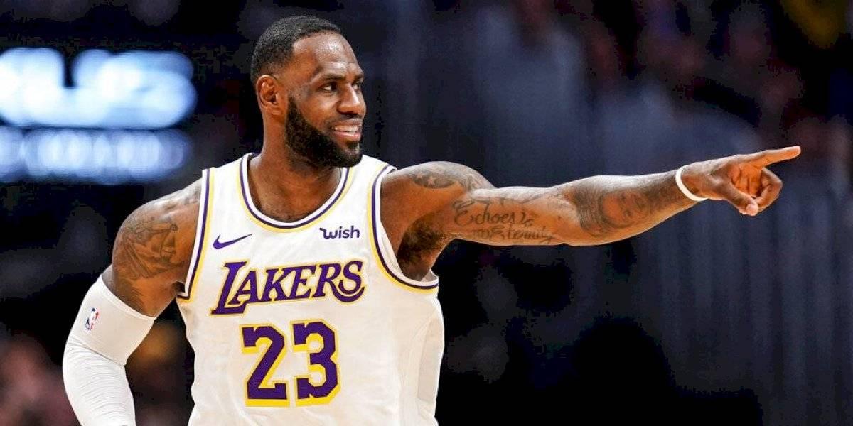 NBA: Lakers se recuperan de la mano de LeBron James y Toronto Raptors pierde el invicto en casa