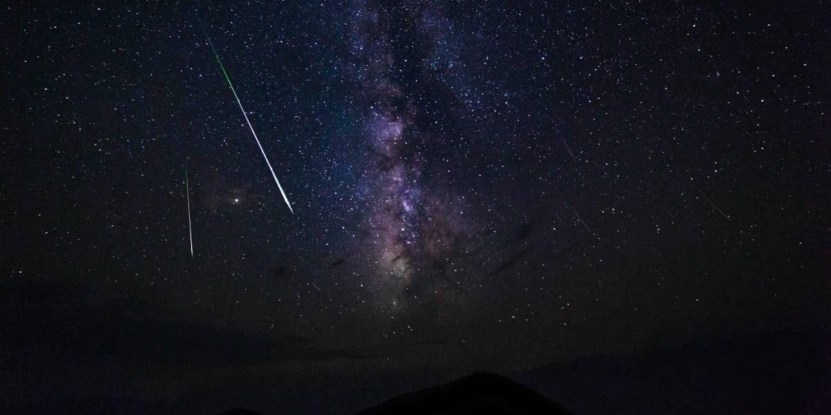 Chuva de meteoros é grande atração astronômica neste mês