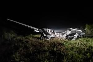 Localizan aeronave incinerada en Petén