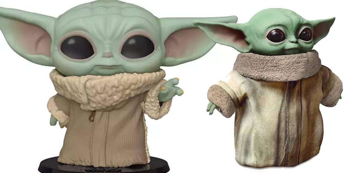 Ya llegaron los juguetes de Baby Yoda con Funko y Mattel