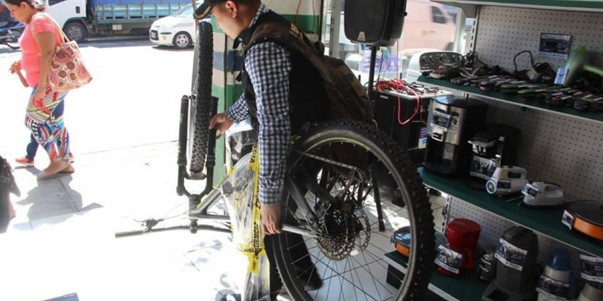 Recuperan bicicletas valoradas en Q27 mil tras allanamiento en casa de empeños