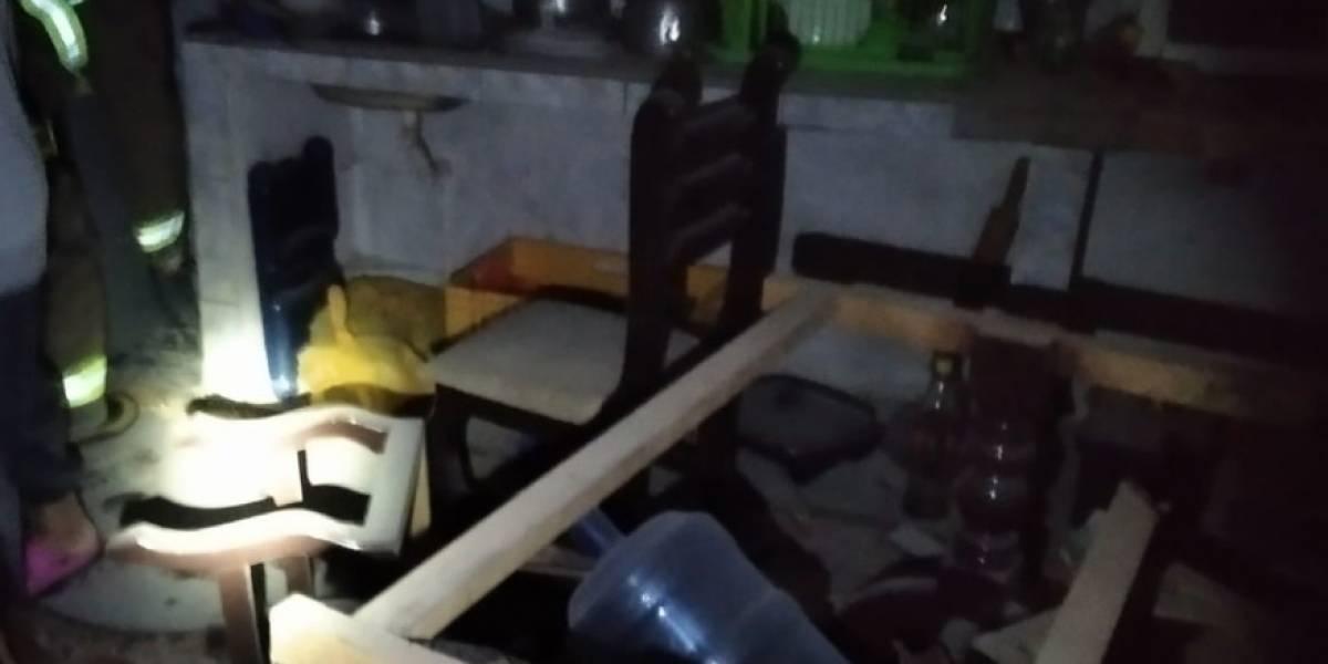 Deflagración de un tanque de helio se reportó en el cantón de Rumiñahui
