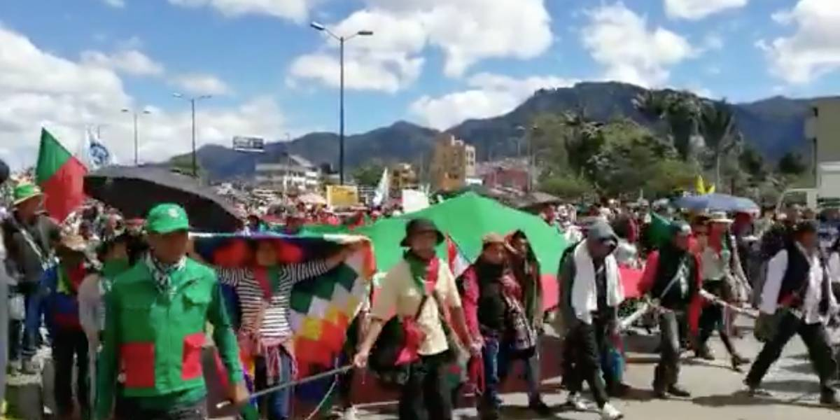 El castigo que los indígenas les darán a los encapuchados en las marchas